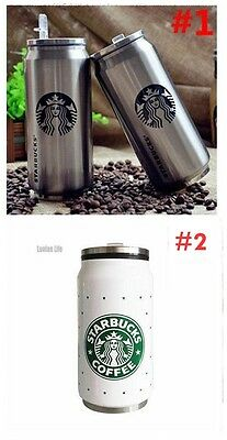 Starbucks Stainless Steel Coffee Tea Insulated Thermos Mug Vacuum Travel Cup