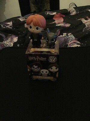 Funko Mystery Mini Harry Potter Figures - Ron Weasley And Scabbers