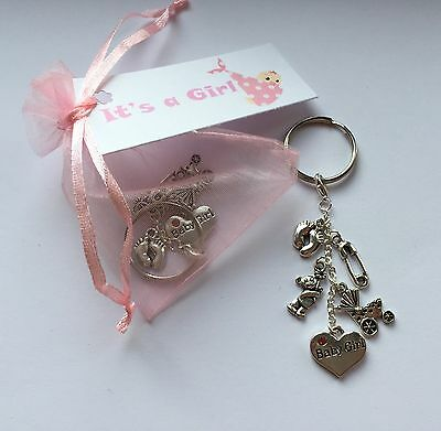 "/""Mum To Be/"" Floating Living Memory Locket Keyring Necklace Baby Shower Gift"