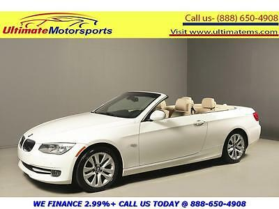 "2013 BMW 3-Series Base Convertible 2-Door 2013 BMW 328i PREMIUM PKG NAV LEATHER PWR SEATS 17""ALLOY KEYLESS BLUETOOTH WHITE"