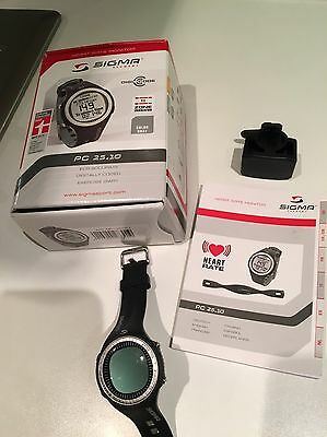 Sigma Heart Rate Monitor Watch PC 25.10