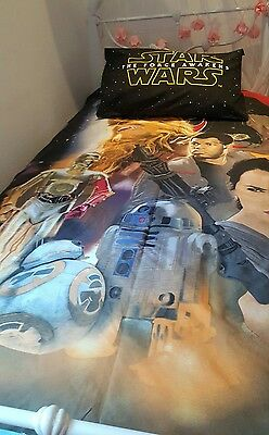 Star Wars Quilt Cover and Pillowcase