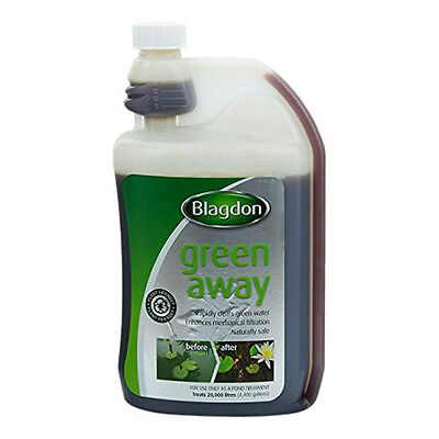 Blagdon Green Away for Fish KOI Pond Best Chemical Water Pool Treatment 500ml