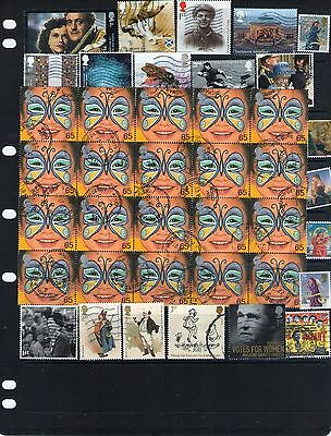 Great Britain Stamp Selection Lot 1