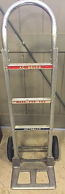 1960's VINTAGE AC DELCO Hand Truck Cart Dolly Sign MAGLINER Auto Car MAKE OFFER!