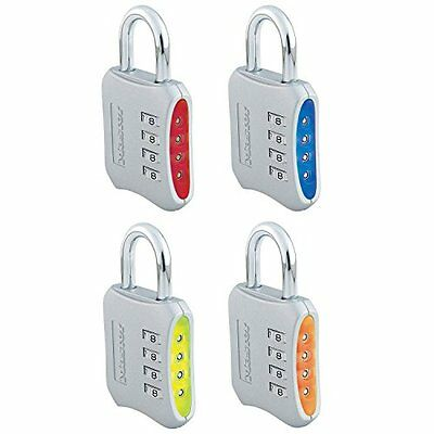 Master Lock Company 653D 6 Pack 2in. Combination Padlock