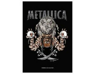 Metallica aargh matey Textile Poster Flag