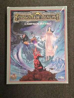 forgotten realms advanced dungeon and dragons campaign setting