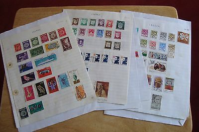 Israel stamps, selling old collection of 266 stamps, see scans