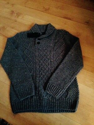 Boys Autograph Cable Style Jumper Age 9-10