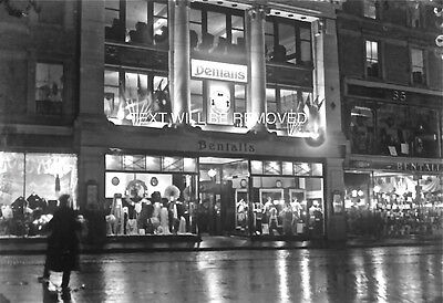 BENFALLS DEPARTMENT STORE LYNMOUTH AREA 1930/40s 1/6th PLATE GLASS NEGATIVE 113