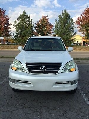 2004 Lexus GX Base Sport Utility 4-Door Low Miles! Well Maint, Navigation, Rear Entertainment DVD, 3rd Row Mark Levinson