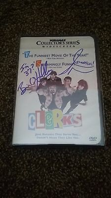 Kevin Smith's CLERK'S DVD, Autographed by Jason Mewes and Brian O'Halloran, MINT