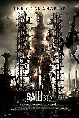 Saw 3D Movie Poster 18'' X 28'' ID:2