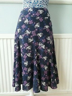 WHITE STUFF flowe and frog patern skirt size 10