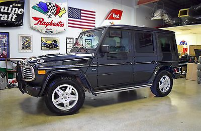 2002 Mercedes-Benz G-Class Base Sport Utility 4-Door 2002 Mercedes- Benz G500