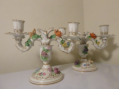 Dresden Candle Holders