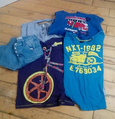 Boys size 10/11 years mixed brands tops & 1 pair of jeans bundle