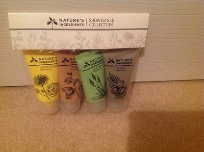 M&S Marks and Spencer Nature's Ingredients Shower Gel Collection