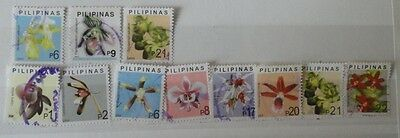 Philippines stamps used stamps orchids 2003 and 2004.