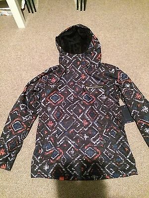 Roxy Jetty Snowboard  Ski Jacket Ladies Ski Jacket Size L