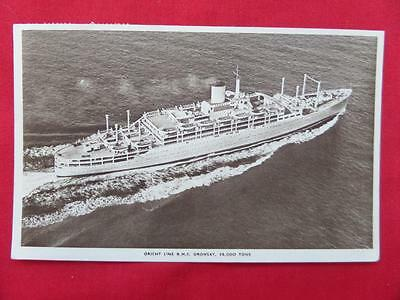 Orient Line RMS ORONSAY Cruise Liner Postcard