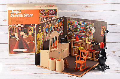 Vintage 1975 Ideal Jody and Her General Store Playset with Box