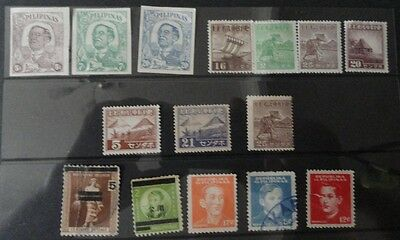 Philippine stamps mint and used Japan era