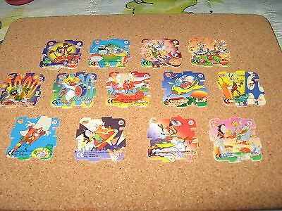 A Selection of Qubix Jigsaw Cards Looney Tunes 1999 series (set 3)