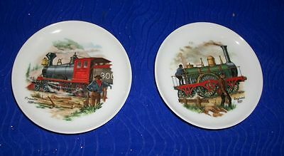 "Lot of 2 Vintage Bareuther Waldsassen Decorative Coasters Mini Plates- 3 5/8""D"