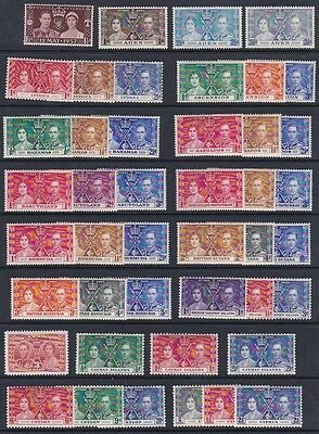 CW Commonwealth Coronation 1937 Complete OMNIBUS 202 stamps