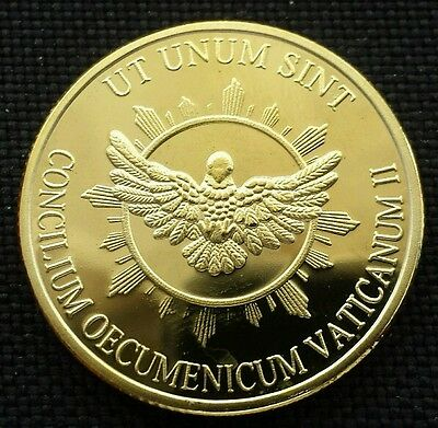 XXll Pont Max Gold Plated Commemorative Coin