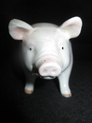Otagiri Japan Pig Planter 5 inches long and 2 1/4 inches wide and 3 inches tall