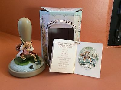 Brown Bag Beatrix Potter The Tale of Jeremy Fisher Cookie Stamp & Recipes NIB