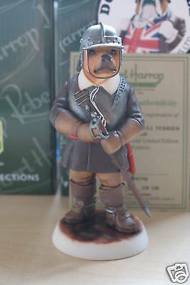 Offer Red Staffordshire Bull Terrier Roundhead Dp217R Robert Harrop Mib