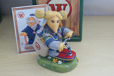 Robert Harrop The Wombles Collection SKOOTBOARD ALDERNEY Boxed Figurine WC13
