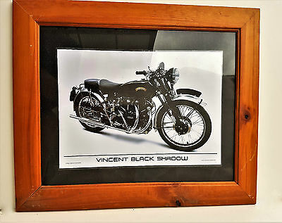 Classic Vincent Black Shadow Framed Print ... Others Available in Store