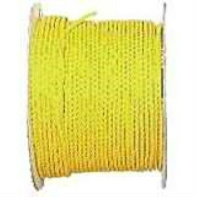 Lehigh Secure Line PY345 Twisted Polypropylene Rope, 3/4-Inch by 150-Foot, Yello