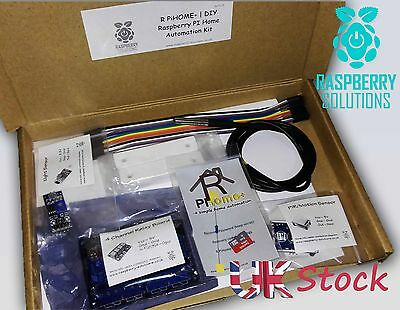 R PiHOME+ | DIY Raspberry PI 3 Home Automation Kit |Remote Heating |Remote Relay