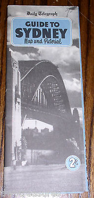 1950s Daily Telegraph Guide To Sydney - Maps and Pictorial