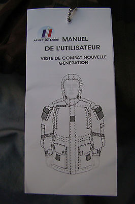 French Foreign Legion (Legion Etrangere) Army COMBAT Smock + Hood and Elbow Pads