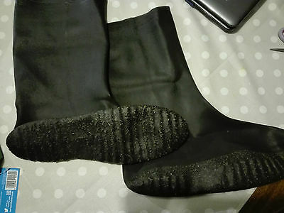 NEW Bike It UK Waterproof Motorcycle Rubber Overboots SIZE M