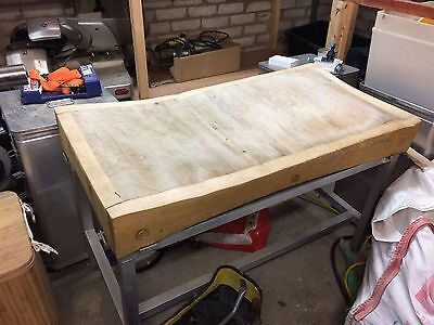 Butchers Block With Stand
