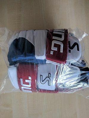 "New Salming M11 Gloves Senior 14"" Icehockey Pro Professional"