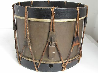 Antique French Marching Snare Drum