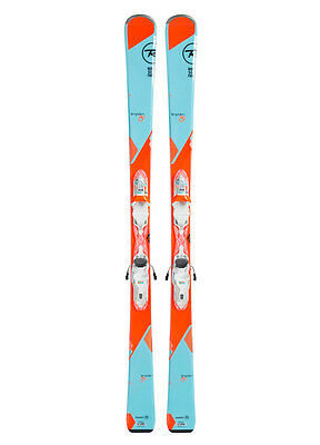Rossignol 2017 Temptation 80 Skis with Express 11 Bindings 160 cm - Womens