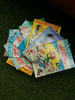 Lot De 19 Albums Gaston Lagaffe