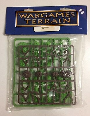 Vintage NOS Games Workshop GW Warhammer 40,000 1998 Trees Age of Sigmar Terrain