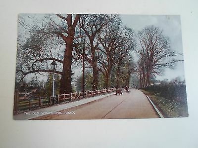 Vintage Postcard The Old Wolverton Road, Milton Keynes, Buckinghamshire
