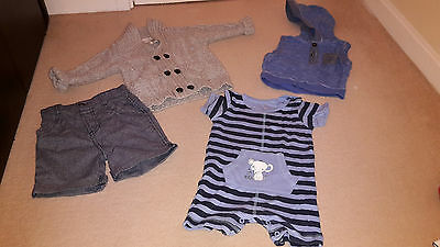 A bundle of Mixed Baby Boys Clothes (3-9 months)